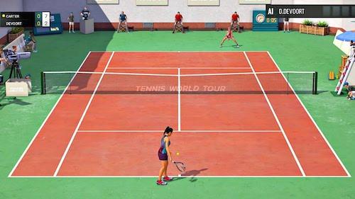 Tennis World Tour Mac OS