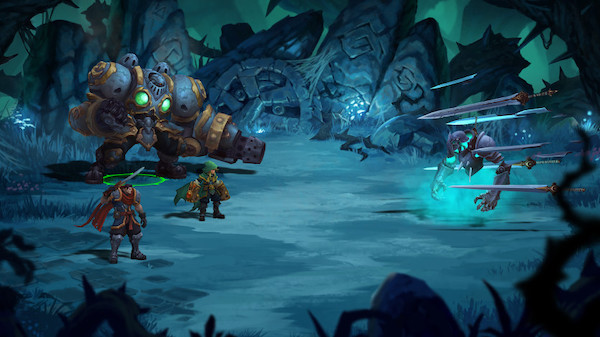 Battle Chasers Nightwar Mac OS