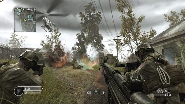Call of Duty 4 Modern Warfare Mac OS