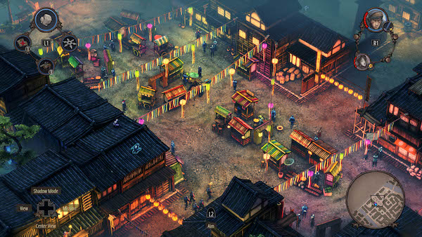 Shadow Tactics Blades of the Shogun Mac OS X