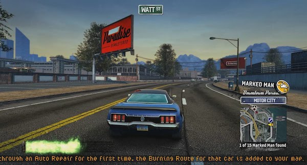 Burnout Paradise Remastered Mac OS