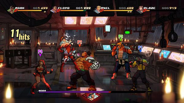 Streets of Rage 4 Mac OS