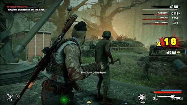 Zombie Army 4 Dead War Mac OS